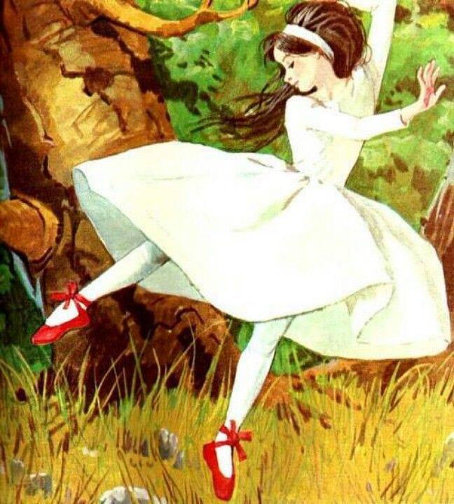 Os sapatinhos vermelhos – conto tradicional